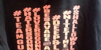 NiteTime Logo Hash Tag Hoodie NiteTime Logo and your choice of one of Hash Tag