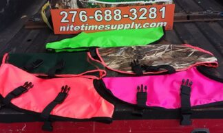 Dog protective vests fits all sizes any color any size see them and keep them properly protected