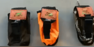 Hunting Gps pouches fit the Garmins dog tracking equipment.