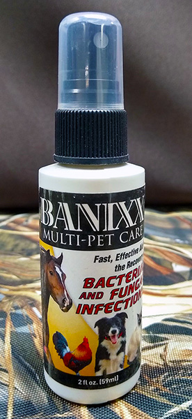 Banixx for dog ear infections, dog hot spots and other common ailments.