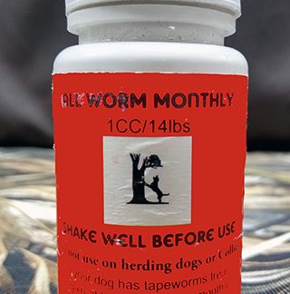 Liquid Dog Wormer