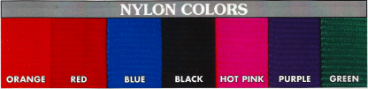 Nylon Hunting Dog Collar Colors available