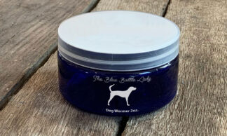 An all natural dog wormer Just add to your dog's meals once a day until stool is clear usually three days Safe for puppies.