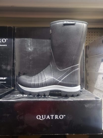 Quatro 13 inch hunting Boot without chaps or with THE FAMOUS BADLANDS OR THE BROWN NITETIME BY ATWELL CHAP